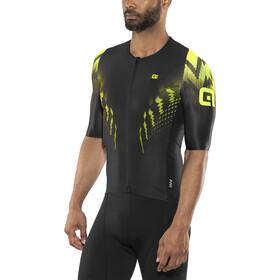 Alé Cycling R-EV1 Pro Race Maillot de cyclisme à manches courtes Homme, black-fluo yellow